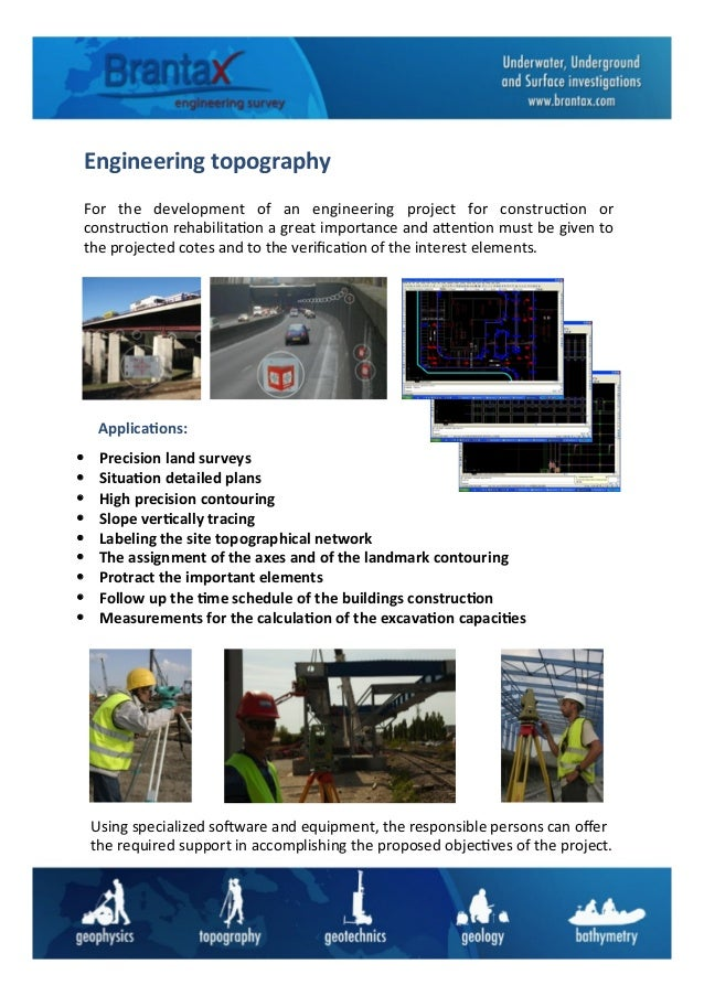 Engineering	   topography	    For	    the	    development	    of	    an	    engineering	    project	    for	    construc6o...