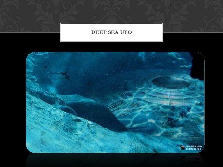 Underwater UFO Slide 3