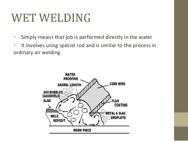 underwater welding Welding Fabrication