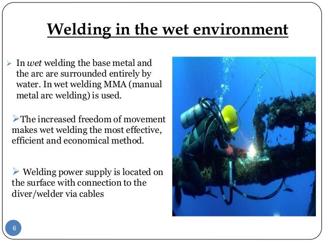 under water welding Get started in the lucrative and exciting industry of underwater welding with divers academy international start your new water welding career in 6 months.