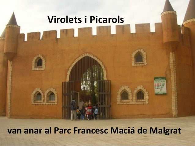 Virolets i Picarolsvan anar al Parc Francesc Maciá de Malgrat