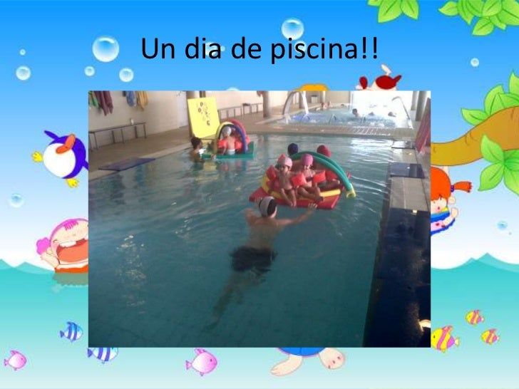 Un dia de piscina!!