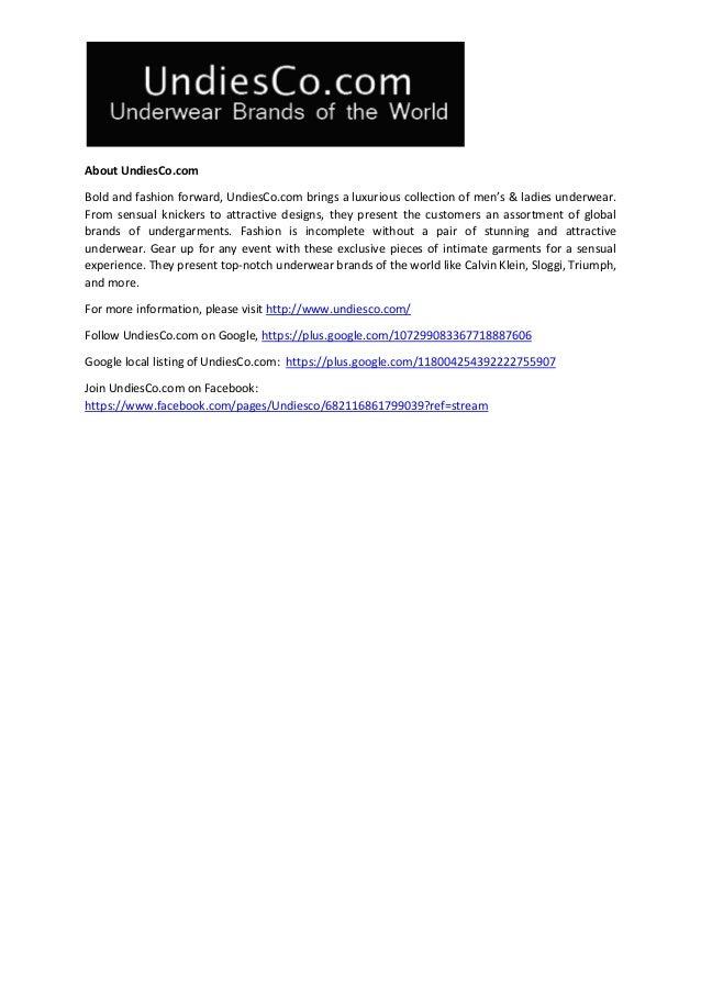 b56487ffddfc UndiesCo.com Now Announces Versatile Range of Chantelle Underwear in …