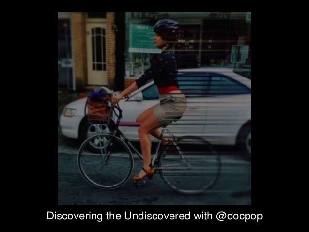 Discovering the Undiscovered with @docpop