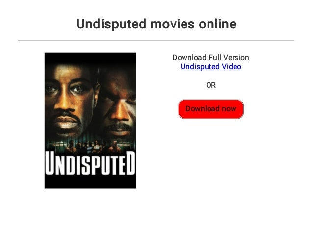 Undisputed 4 Full Movie German