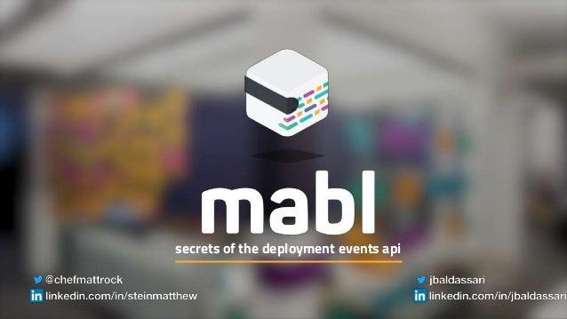secrets of the deployment events api