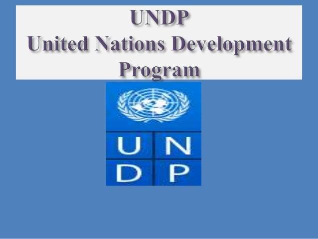 UNDP Slide 2