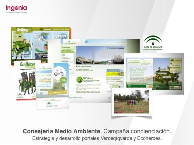 Turismo Andaluz. Branding online. Portal sector profesional. Campañas de comunicación.
