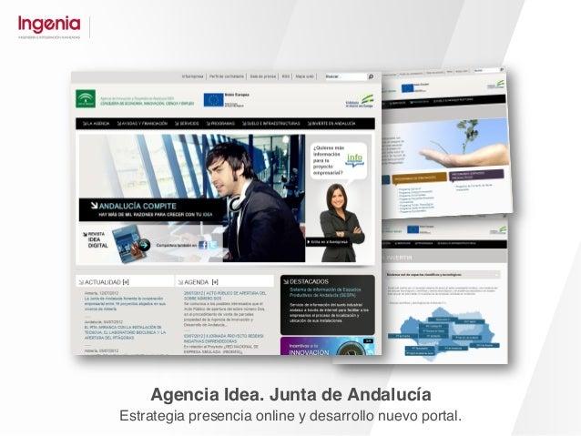 Consumo Responde. Junta de Andalucía. Estrategia y desarrollo comunidad consumidores.