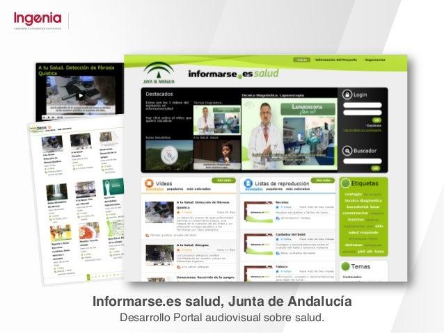 Fundación Pública Andaluza. Fondo de Formación y Empleo Desarrollo Plataforma de I+D y Gestión del conocimiento.