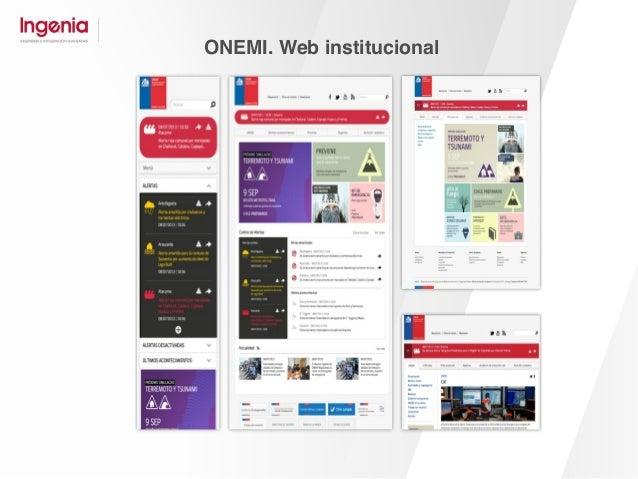 SERCOTEC. Web institucional