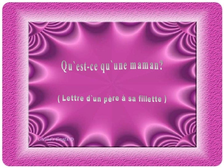 Une Maman