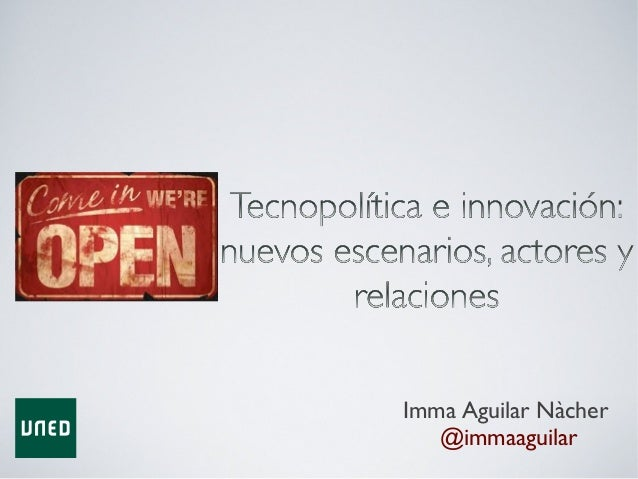 Imma Aguilar Nàcher @immaaguilar