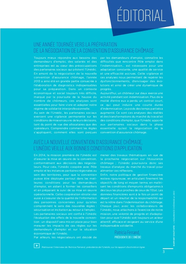 L 39 assurance ch mage en 2013 rapport d 39 activit for Bureau assurance emploi