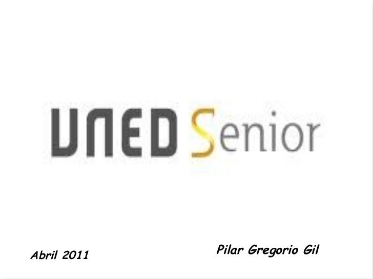 Pilar Gregorio Gil Abril 2011