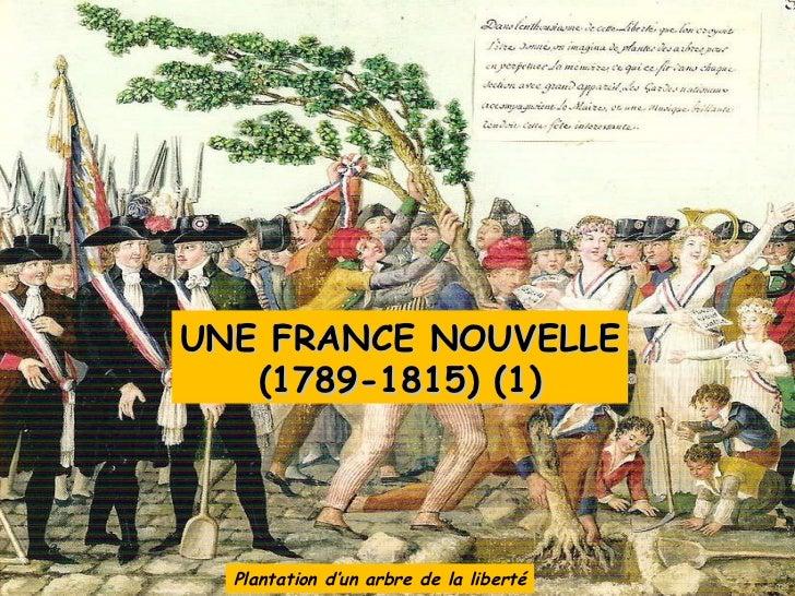 Plantation d'un arbre de la liberté UNE FRANCE NOUVELLE (1789-1815) (1)