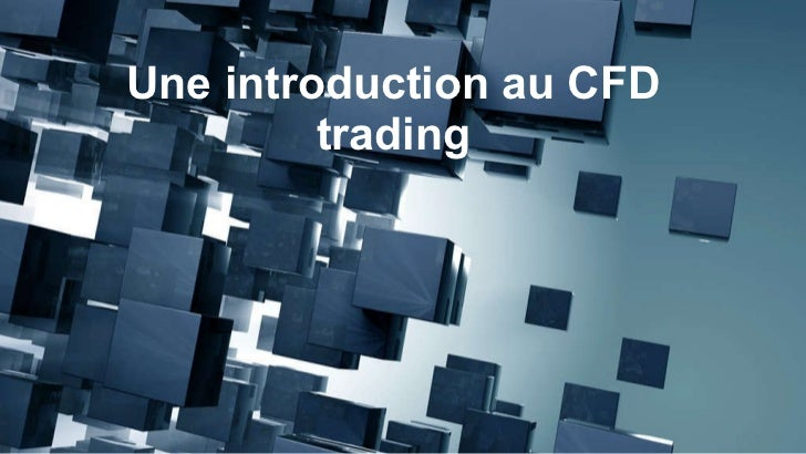 Une introduction au CFD trading