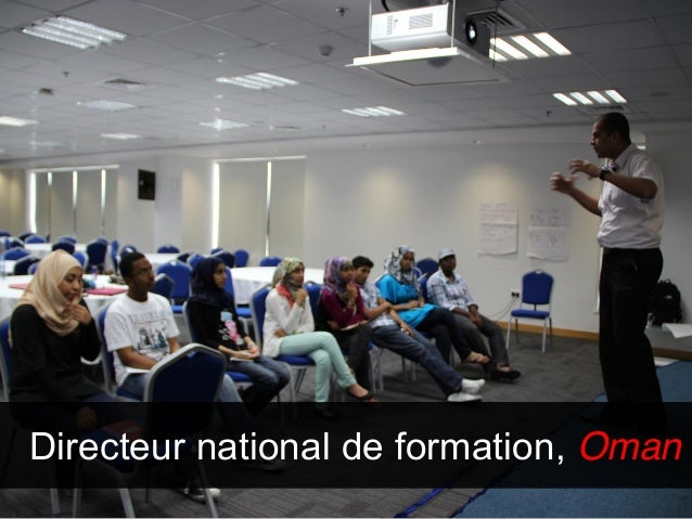 Directeur national de formation, Oman