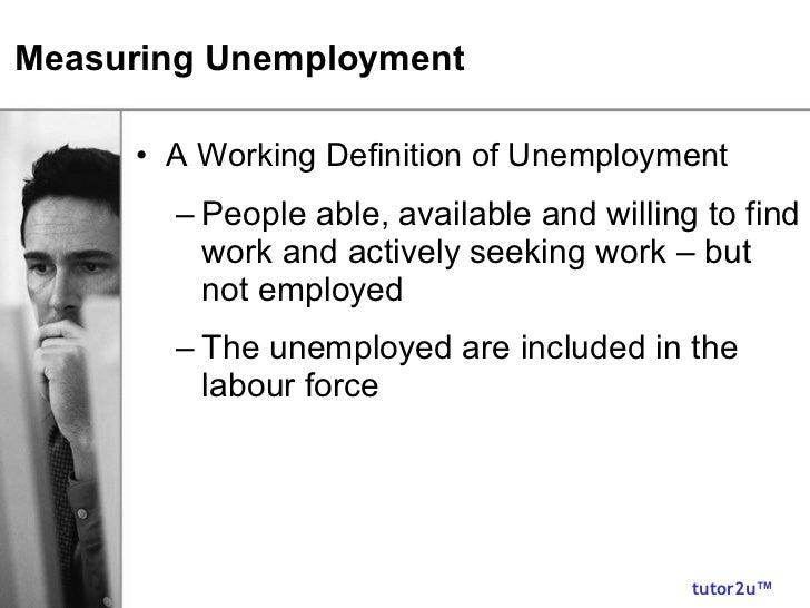 Unemployment Slide 3