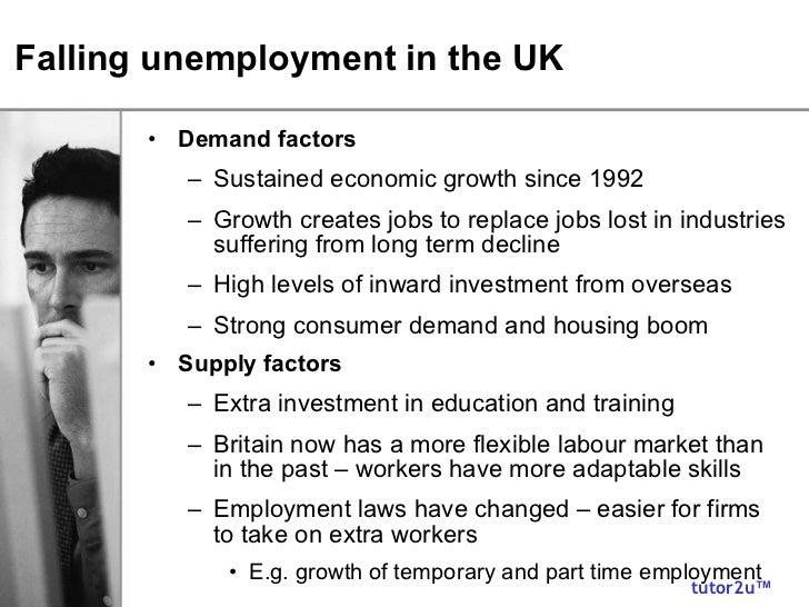 unemployment effect on economy