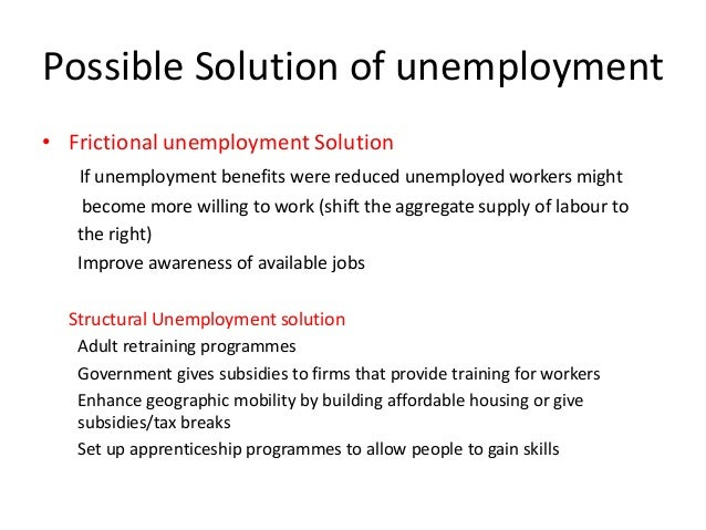 recommendations for unemployment Meeting eligibility requirements an individual must meet all unemployment insurance (ui) eligibility requirements in order to receive benefit payments.