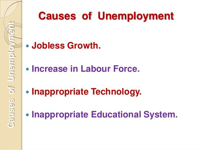 the problems of unemployment Unemployment has a variety of causes but is a keenly watched statistic as a measure of the strength of the us economy.
