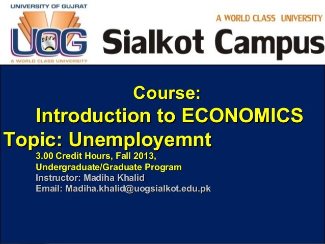 introductory course in economics This economics course is an introduction to basic microeconomic principles you will learn how individuals make decisions ranging from what type of goods to buy to how many hours to work, and how firms make decisions ranging from how many workers to hire to what prices to charge.