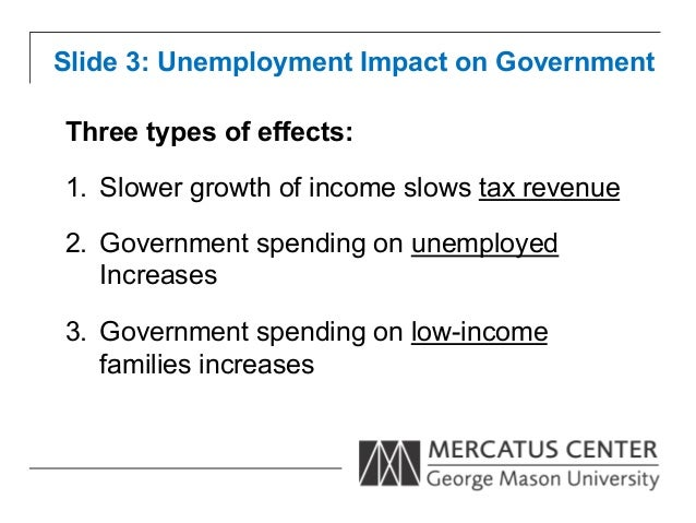 three effects of unemployment