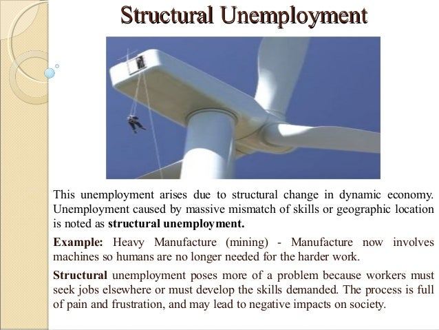 how to fix structural unemployment
