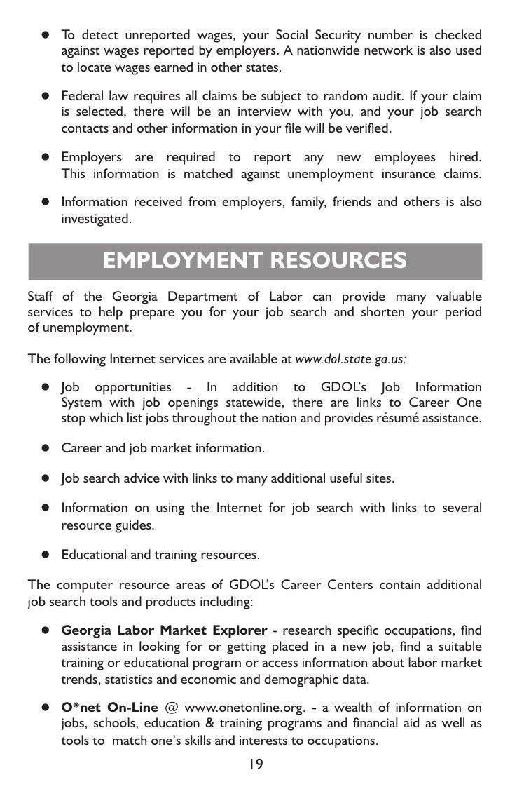 Unemployment File