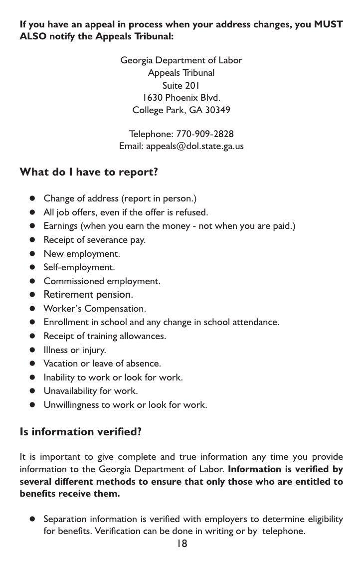 unemployment letter templates