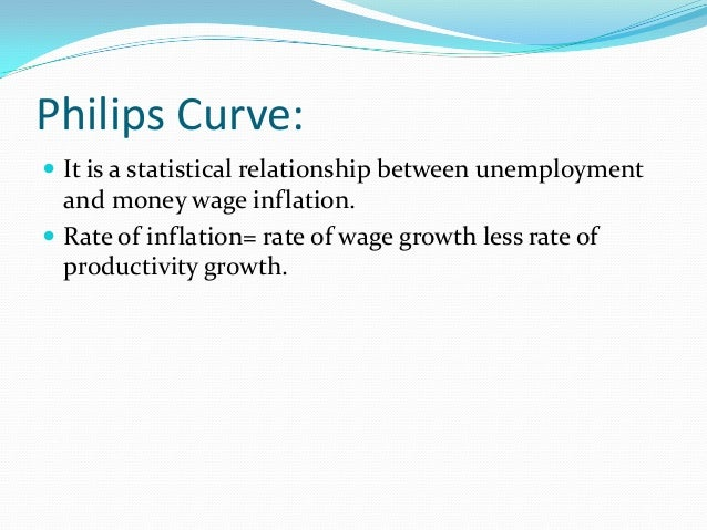 stagflation is a combination of inflation and unemployment relationship