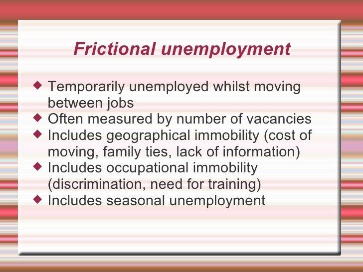 Unemployment types Slide 2