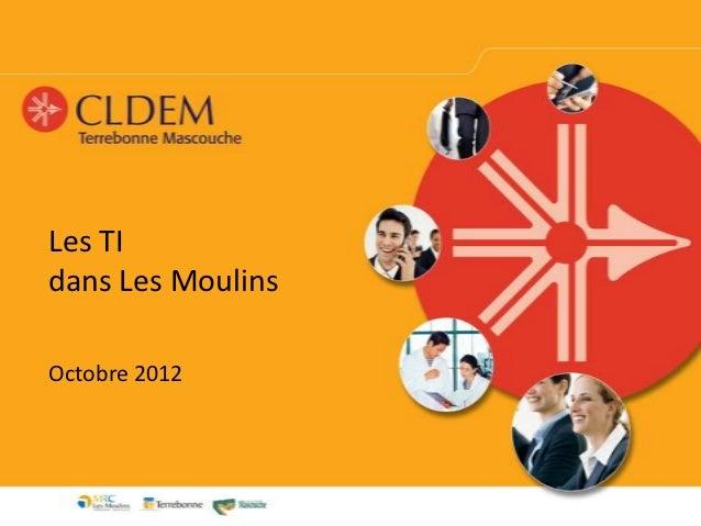 Les TIdans Les MoulinsOctobre 2012
