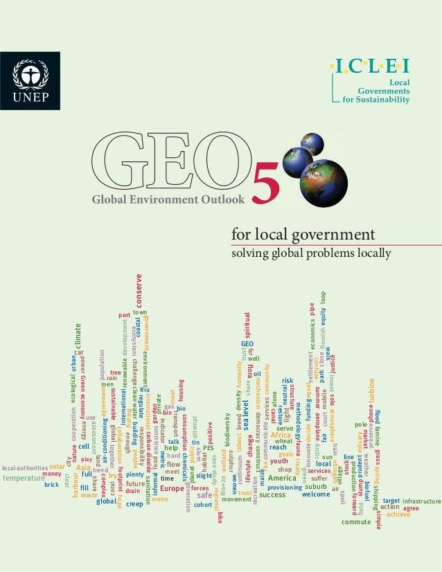 Unep iclei-geo-5
