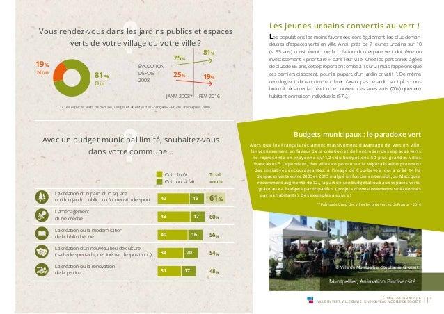 Ville en vert ville en vie un nouveau mod le de soci t for Les espaces verts urbains