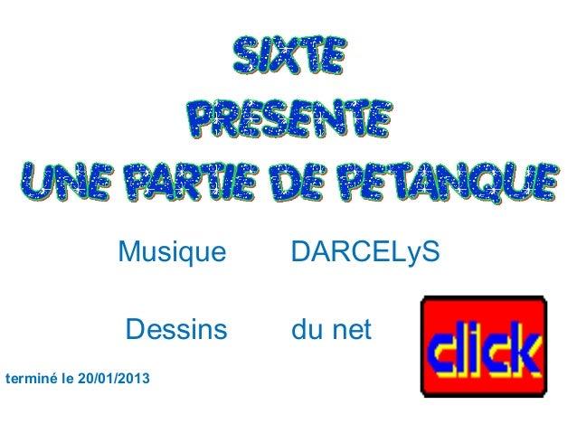 Musique DARCELyS  Dessins du net  terminé le 20/01/2013