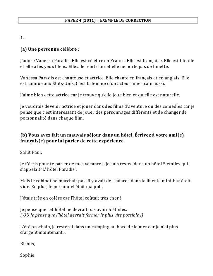 Texte Sur Le Portrait Physique Et Moral D Une Personne