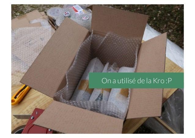 On a utilisé de la Kro :P
