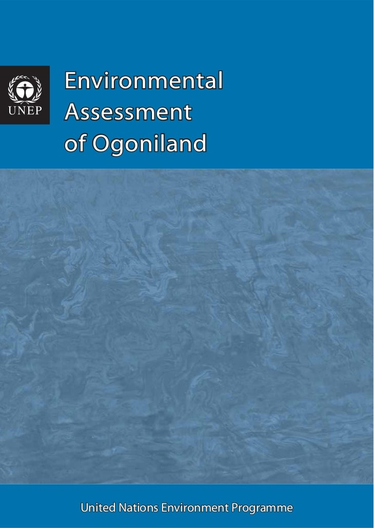 EnvironmentalAssessmentof Ogoniland United Nations Environment Programme