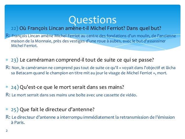 Une question pour une autre de didier daeninckx Slide 2