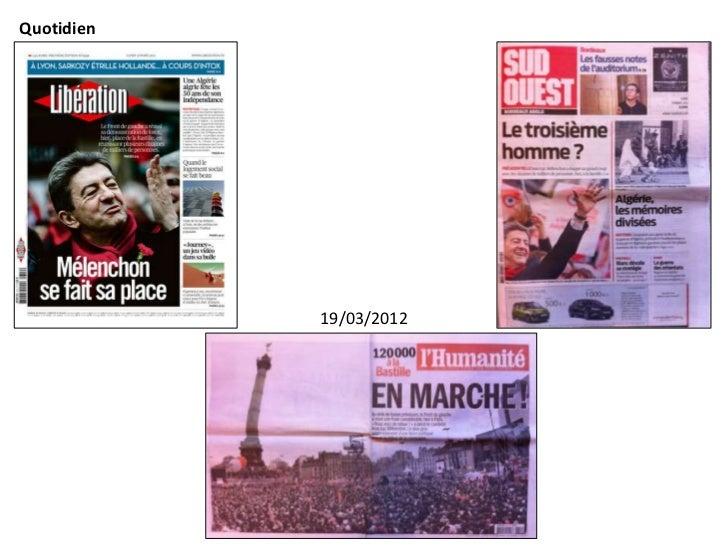 Quotidien            19/03/2012             Libération