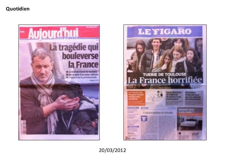 Quotidien            20/03/2012