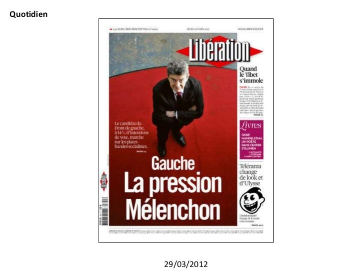 Quotidien            29/03/2012