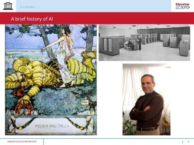 Can education systems anticipate the challenges of AI? Slide 2