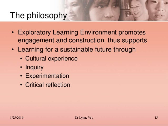 philosophy as a tool for sustainable Support materials for the professional standards for teachers - learning for sustainability.