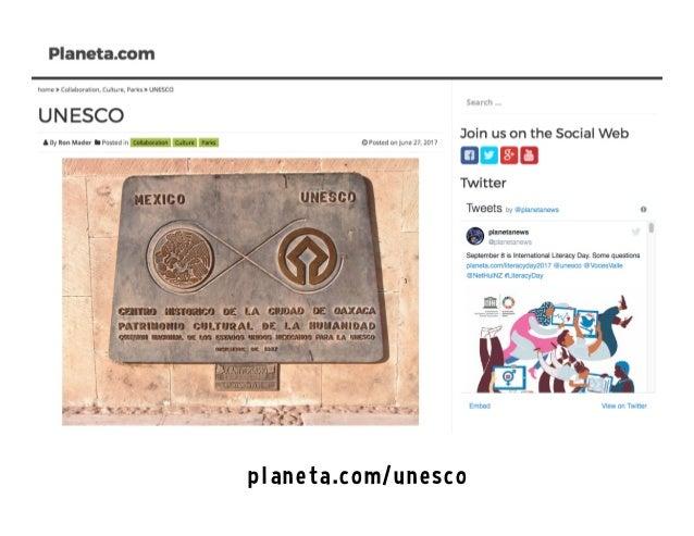 UNESCO on the Social Web Slide 3