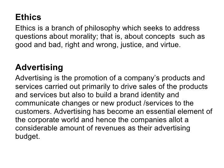 What Are the Ethics of Advertising?