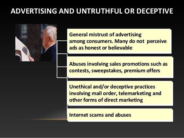 unethical advertisements This form of advertising is a premium service offered by advertising companies, but also raises ethical and privacy concerns the author's research showed that from.