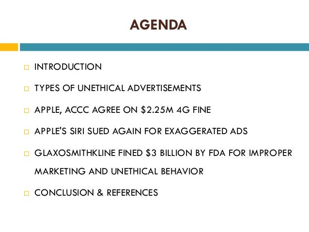unethical marketing and its consequences Ethics 9 marketing ethics: is there  ethics in marketing: a primarily utilitarian approach  medical and dental effects do its modes of production and marketing.